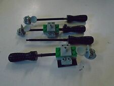 Lego Lot of 4 Soccer Field Goal Tender Replacement Parts Assembly Handle
