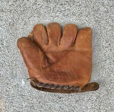 VINTAGE 1930's HUTCH BILLY MYERS COWHIDE BASEBALL GLOVE
