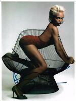 Rosario Dawson autographed 8x10 photo COA Complex Magazine shoot