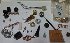 Lot Various Interesting Altered Art Parts Electronics Project Steampunk  BB7