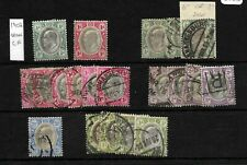 South Africa, Transvaal,  1902 KEVII selection, mint and used  (SA177)