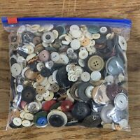Vintage Button Collection 1 lbs 11.4 oz  Large Variety Mixed Lot Assorted