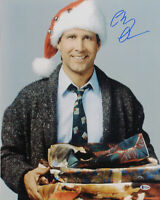 Chevy Chase Christmas Vacation Authentic Signed 16x20 Presents Photo BAS Witness