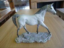 COLLECTABLE LARGE BESWICK HORSE MOONLIGHT DAPPLE GREY MATT FINISH MODEL 2671