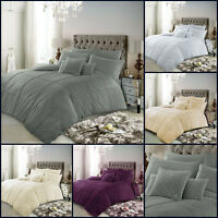 Luxury Bedding Set King Size Double Single Super Designer Quilt Duvet Cover New