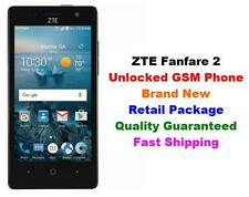 """NEW Unlocked GSM Cricket AT&T T-Mobile ZTE Fanfare 2 4G Android 6.0 8GB 5MP 4.5"""""""