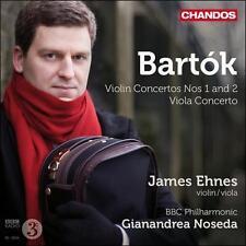 Bartok: Violin Concertos, Nos. 1 and 2; Viola Concerto, New Music