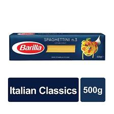 Barilla Durum wheat Pasta  Spaghettini No.3 500gr (1 pack)