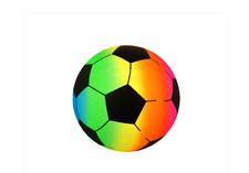 1x PVC Arcoiris Fútbol Pelota de Playa Hinchable Sports Suave Fútbol (R38723)