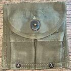 USGI WW II Era 1945 Aldon Small Arms Ammo Pouch Used (A15)
