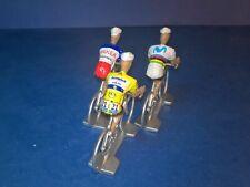 Lot de 3 cyclistes Tour de France 2019 - Echelle 1/32 - Cycling figure