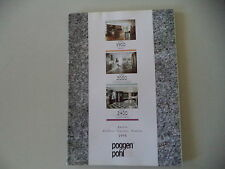 - CATALOGO POGGENPOHL KITCHENS 1995