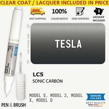 Touch Up Paint For Tesla Aeroturbine Wheels Rim Lc5 Model S 3 106e Sonic Carbon