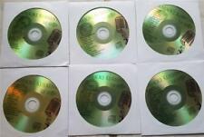 6 CDG DISCS SET KARAOKE KURRENTS (GREEN COVERS) LADY GAGA,KATY PERRY *2019 SALE*