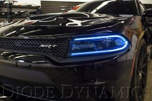 2015-2018 Dodge Charger RGBW DRL Headlight LED Boards w/Bluetooth Controller