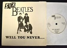 PICTURE SLEEVE Sex Beatles Charly 1061 Well You Never and Fatal Fascination