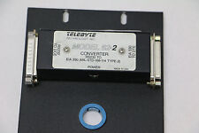 Telebyte modèle 62-1 RS-232 vers eia-530 Interface Convertisseur