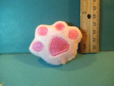 Barbie 1:6 Miniature Plush Paw Print Bed Pillow for Kelly