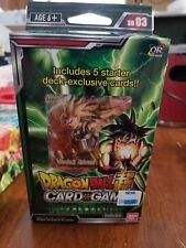 Dragon Ball Super Card Game - Dark Invasion - Starter Deck SD03 NEW