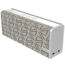 DOSS SoundBox Color Portable Wireless Bluetooth Speaker White