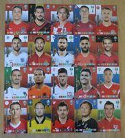 Panini Adrenalyn XL Uefa Euro EM 2020 alle 20 Captain Karten komplett