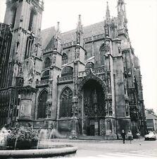 THANN c. 1960 - 2 Photos Collégiale Saint-Thiébaut Haut-Rhin - Div 12732