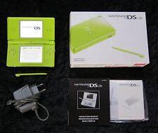Nintendo DS Lite Spiele Konsole in Grün mit original Ladekabel + OVP