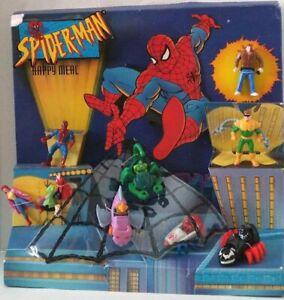 McDonald's 1995 Vintage Marvel Spider-man Action Figure Toys-Pick Your Favorite!