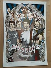 FOO FIGHTERS MELBOURNE 2005 CONCERT POSTER ART RHYS COOPER FIRST EDITION 550