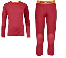 ORTOVOX 185 Rock 'n' Wool LONG SLEEVE o Short Pants-funzione da Donna Biancheria