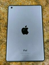 iPad Mini 1st Gen A1432 Back Cover Rear Housing AND A GOOD BATTERY Gray