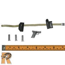 Laars: GSG9 - Belt Set w/ Pistol & Holster - 1/6 Scale - Dragon Action Figures