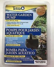 Tetra Water Garden Pump 550 GPH Powers Koi Ponds Fountain Heads New Sealed