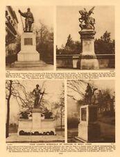 London Memorials. Robert Scott. Machine Gun Corps. Imperial Camel Corps 1926
