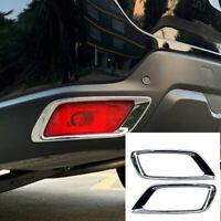 For Subaru Forester SK 2019 2020 Chrome Rear Fog Light Lamp Cover Trim Sticker