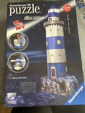 Ravensburger 3D Puzzle 3D Night Edition Lighthouse 216 Pieces
