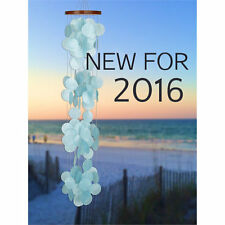 Woodstock Chimes - Capiz Waterfall - Azure - NEW 2016 CWRA