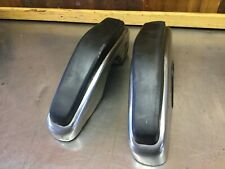 Fiat 124 Spider - Early Front Bumper Ends. Used.          F2472