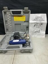 Chicago Electric Power Tools Rotary Tool Kit Accessories and Case, Read Descr.