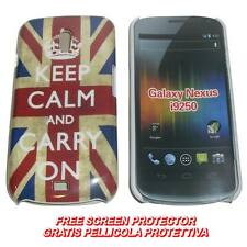 Pellicola + Custodia BACK cover IMD KEEP CALM per Samsung Galaxy Nexus I9250