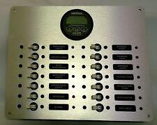 DC Circuit Breaker Panel with Xantrex Linklite Monitor