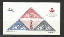 ESPAÑA. Año: 1992. Tema: V CENTº DEL DESCUBRIMIENTO DE AMERICA.