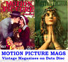 Motion Picture 1910s Vintage Collection Film Movie Screen Magazines on Data Disc