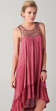 NWT Rebecca Minkoff Karla Long Dress Rose Size 10 MSRP $428