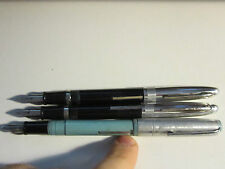 3 VINTAGE SHAEFFER'S WINDSOR FOUNTAIN PENS - UNKNOWN WORKING CONDITION?