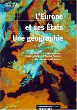 """LIVRE """"EUROPE ET SES ETATS : UNE GEOGRAPHIE"""" Datar - La documentation Francaise"""