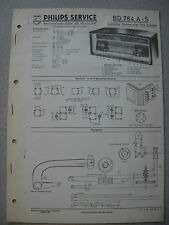Philips BD784A-S Capella Tonmeister 784 Stereo Service Manual Ausgabe 12/58
