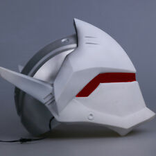 Ow Overwatch Genji Cosplay Helmet Halloween Ball White Pvc Mask Props Collection