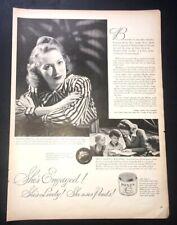 Life Magazine Ad POND'S Cold Cream 1944 Ad