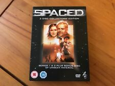 Spaced 3 Disc Collectors Edition DVD - Complete Boxset - Simon Pegg